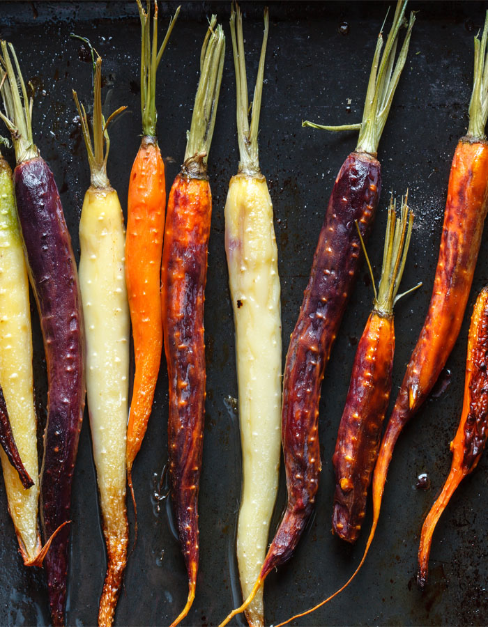 roasted carrots with orange juice   the africa channel