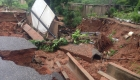 Accra damaged areas